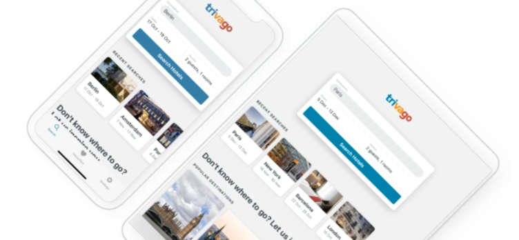 How to use trivago to search for a hotel