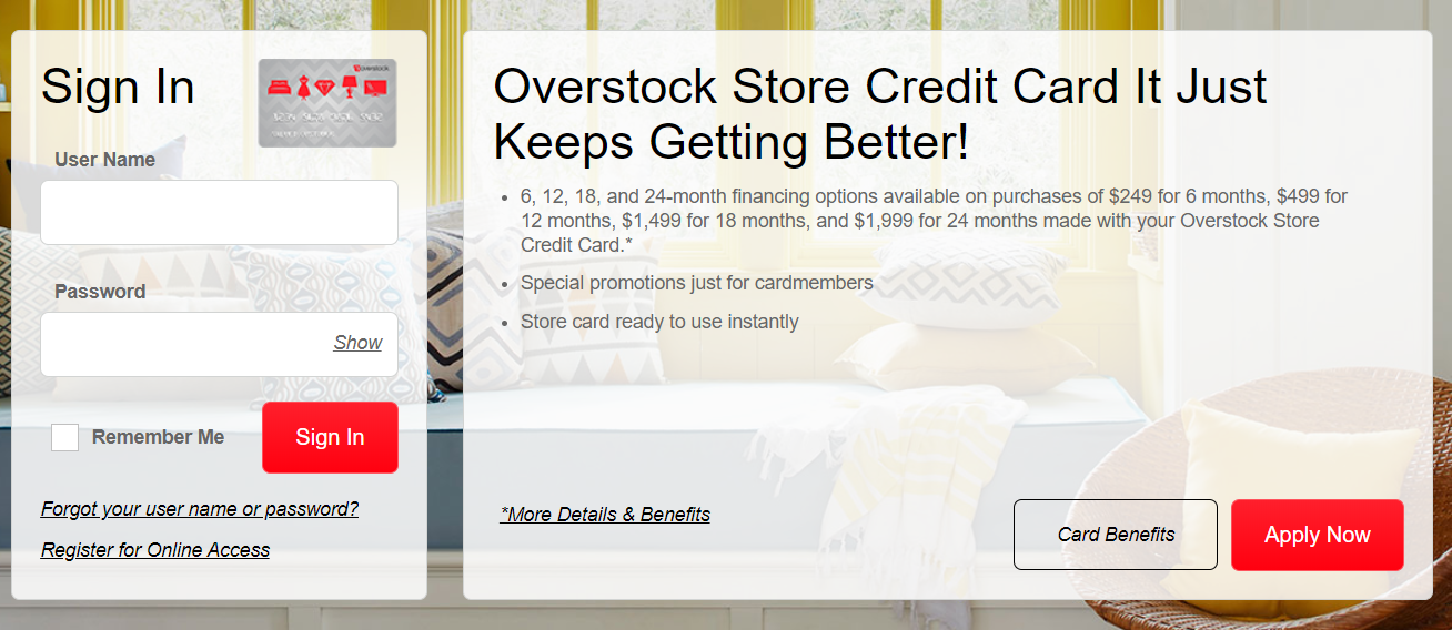 The Overstock Store Credit Card Is It Really Worth It 2020