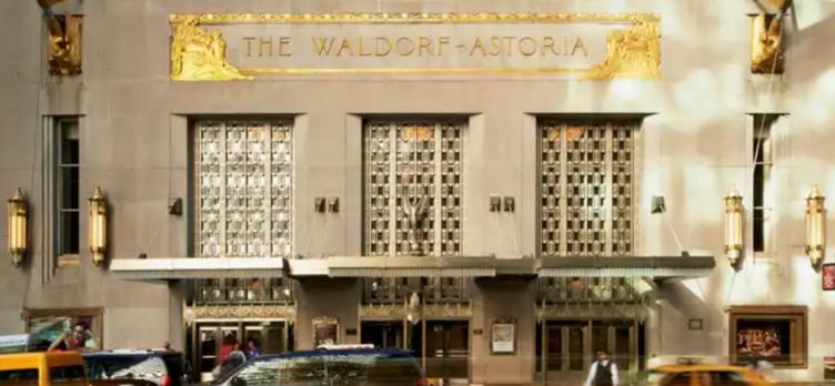 Waldorf Astoria New York Facade
