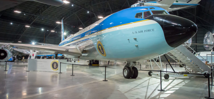 Boeing VC 137C SAM 26000 at National Museum of the US Air Force