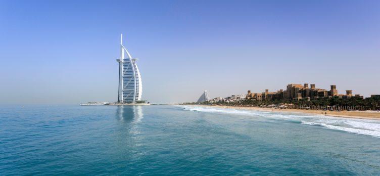 Burj al Arab Hotel in Dubai UAE