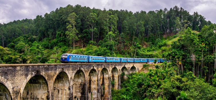 Sri Lanka Bridge Train