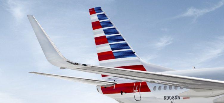 AA airplane