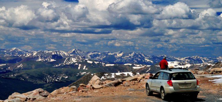 Mt Evans Colorado Car Rental