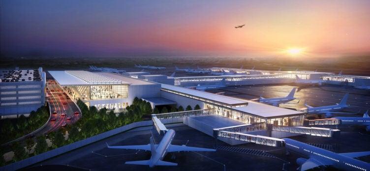 Kansas City International Airport rendering