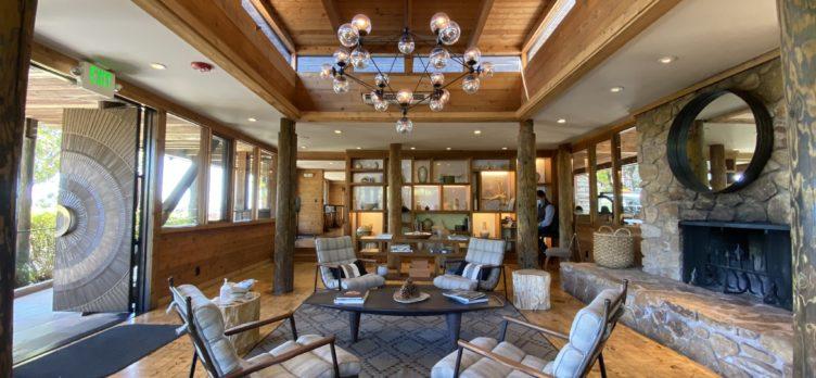 Ventana Big Sur an Alila Resort reception interior