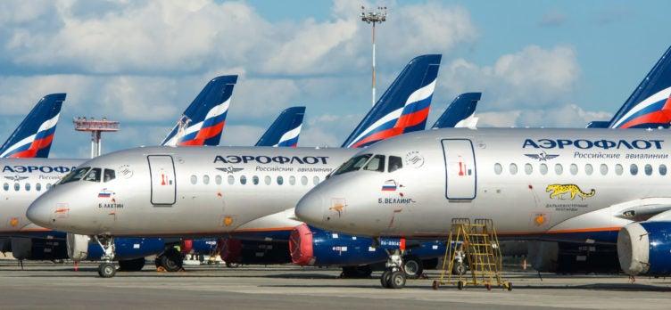 Aeroflot planes