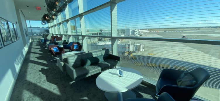 Centurion Lounge JFK View