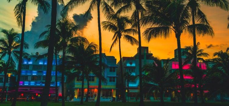 Ocean Drive hotels South Beach Miami