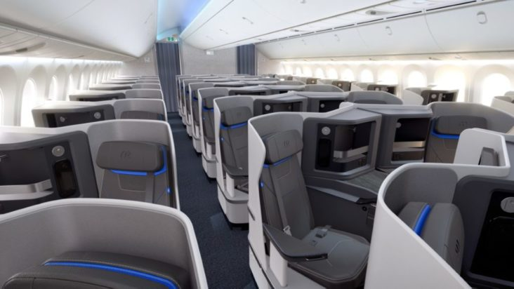 Air Europa бизнес-класс