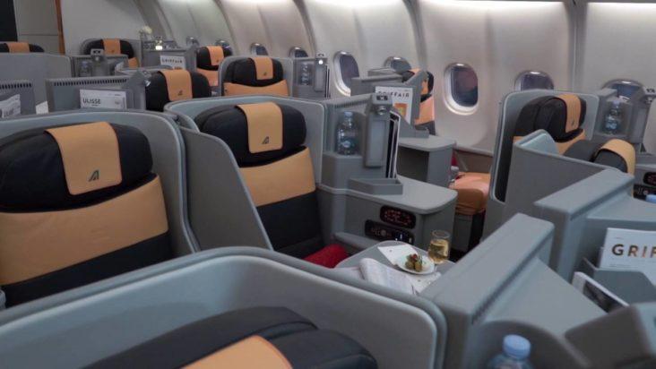 Бизнес-класс Alitalia