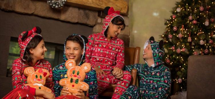 Disney Family Holiday Onesies
