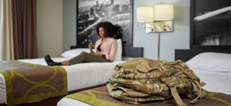Wyndham Military Member In Room