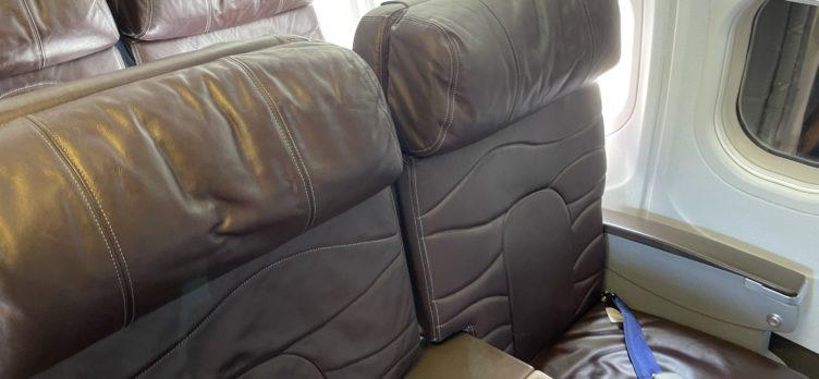 Hawaiian Airlines B717 FIrst Class