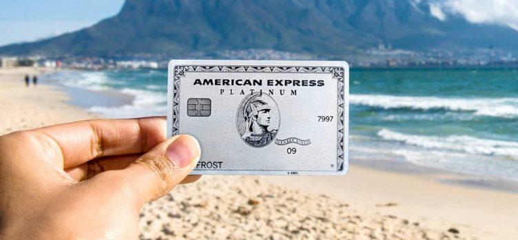 Amex Platinum Card beach