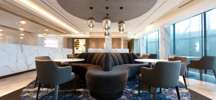 United Polaris Lounge IAH