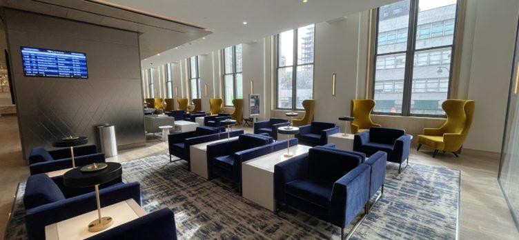 Amtrak Metropolitan Lounge NYC General Seating