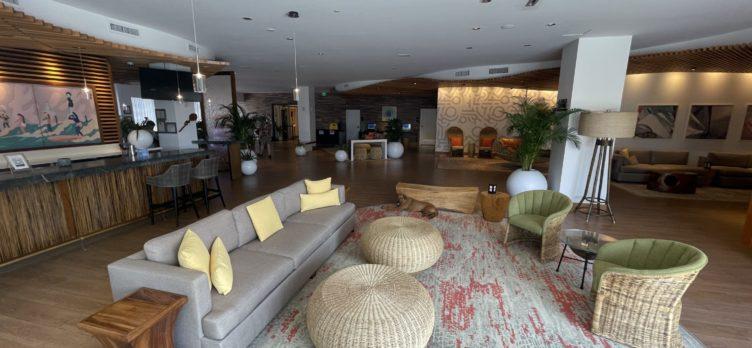 Hyatt Centric Waikiki Lobby Seating