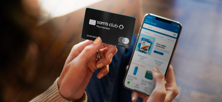Sams Club Plus Member Card and phone