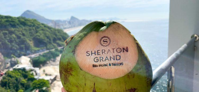 Sheraton Grand Rio de Janeiro Coconut Water balcony view