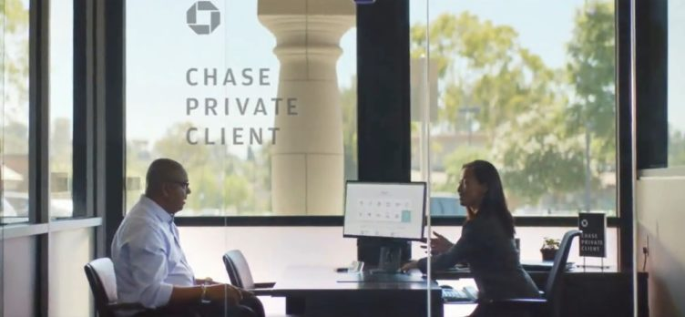 Chase Private Client banker customer