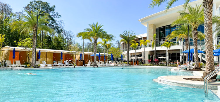 JW Marriott Bonnet Creek Orlando pool area view