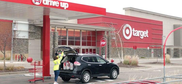 Target pickup