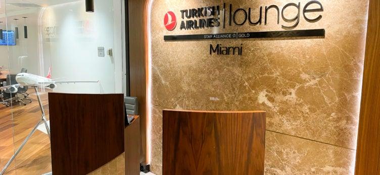 Turkish Lounge Miami welcome desk