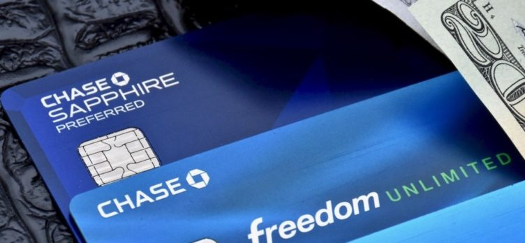 Chase credit cards and cash