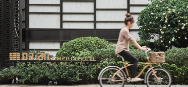 Kimpton Da An Hotel custom bike
