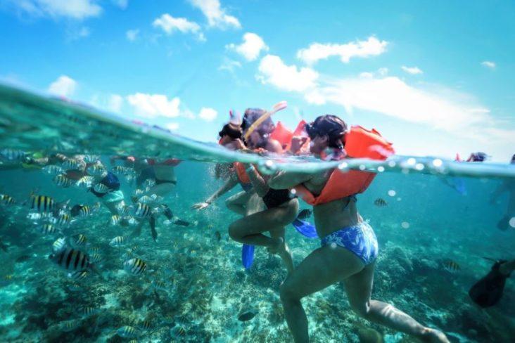 Тур с подводным плаванием на остров Исла Мухерес