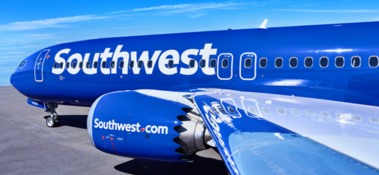Southwest Airlines 737 MAX 8