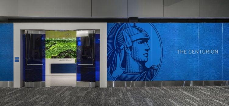 Centurion LGA Lounge Entrance