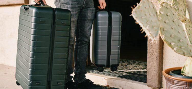 Hard side luggage