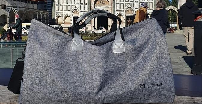 Modoker carry on duffel bag 1