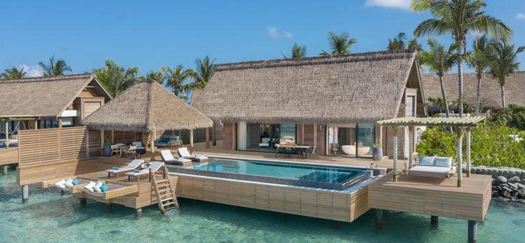 Waldorf Astoria Maldives Ithaafushi reef villa