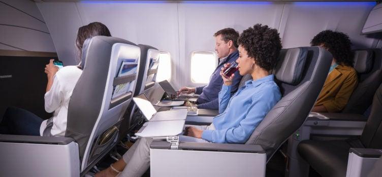 Alaska Airlines new first class cabin