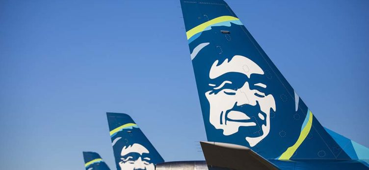 Alaska Airlines planes