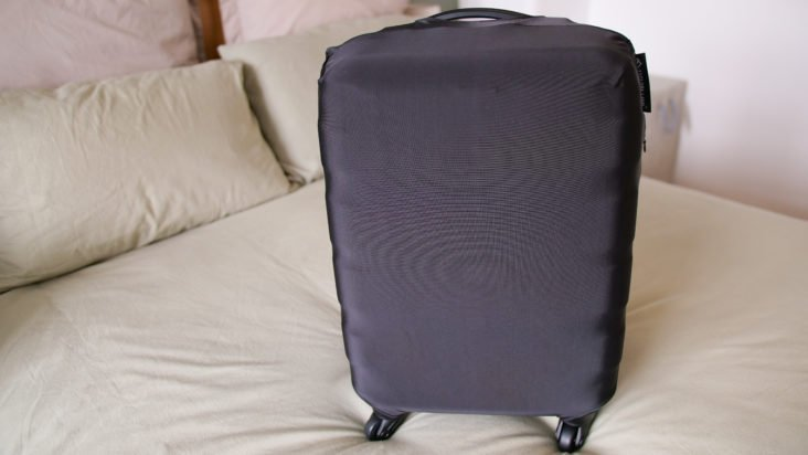 Luggage Cover handle access