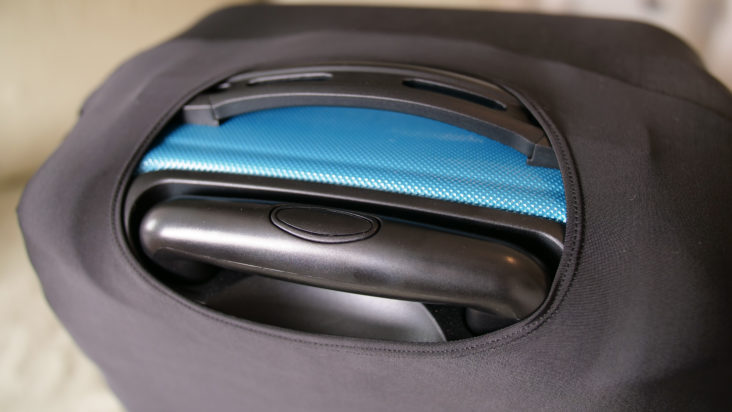 Luggage Cover zippered access