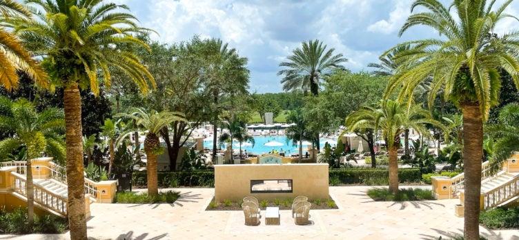 Ritz Carlton Orlando Grande Lakes Pool Area
