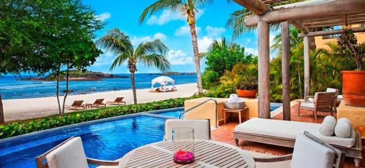 The St. Regis Punta Mita Resort bedroom villa