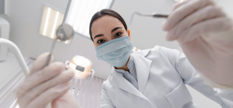 dentist from perspective patient