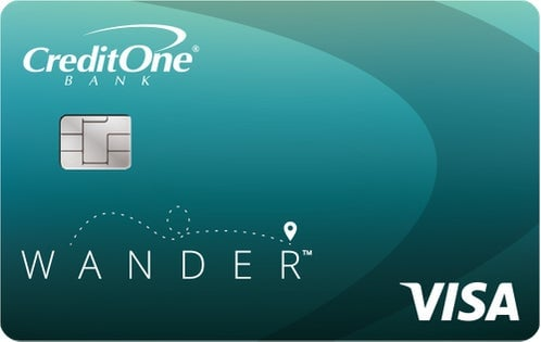 Credit One Bank® Wander™ Card – Card Review