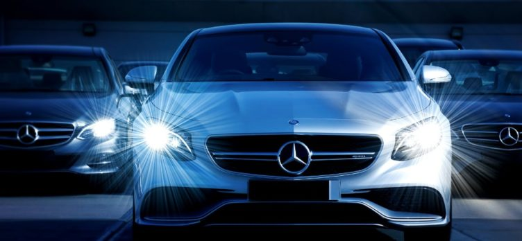 Mercedes with Lights