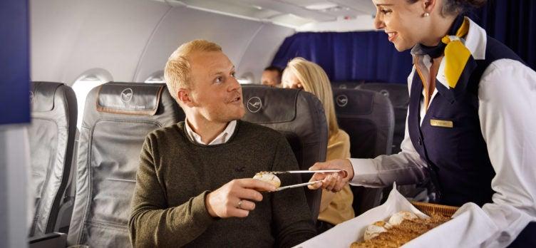 Tasting HEIMAT Lufthansa Business Meal
