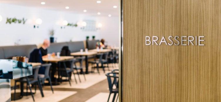 British Airways Brasserie JFK Club lounge