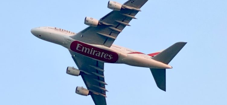 Emirates A380 A6-EVE