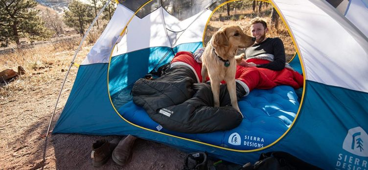 Sierra Designs 2 Person Queen Camping Air Bed Mattress